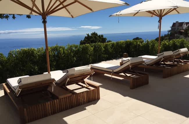 5 Bedroom Camps Bay Villa with hot tub an pool
